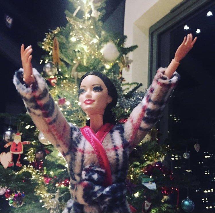 Christmas Barbie