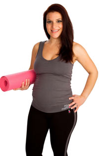 Yoga and Pilates are good forms of exercise during pregnancy