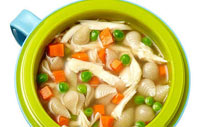 Healthy lunch soup